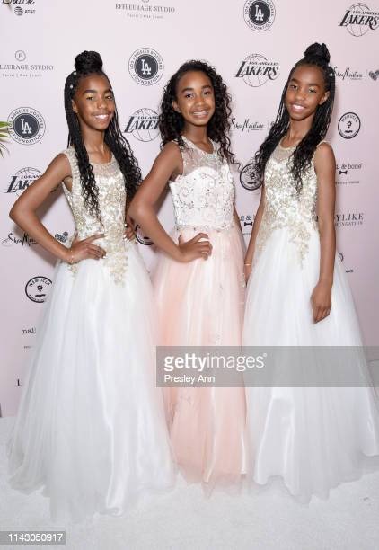 D'Lila Star Combs Jessie James Combs and Chance Combs attend The LadyLike Foundation Women Of Excellence Luncheon at The Beverly Hilton Hotel on May...