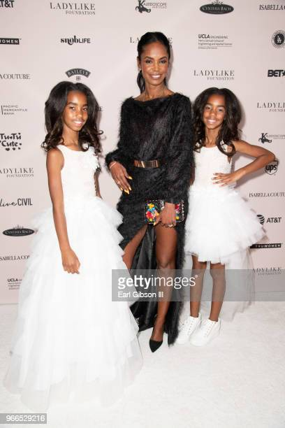 D'Lila Star Combs Kim Porter and Jessie James Combs attend the Ladylike Foundation's 2018 Annual Women Of Excellence Scholarship Luncheon at The...