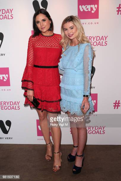 Lilah Parsons and Georgia Toffolo seen attending Verycouk #Everydaylifegoals launch party to celebrate the launch of Very's new campain on March 13...