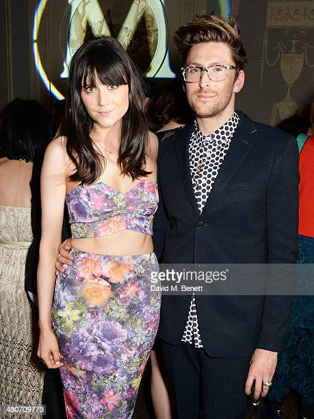 Lilah Parsons and Henry Holland attend a party to celebrate 25 years of Magnum at Home House on March 26 2014 in London England