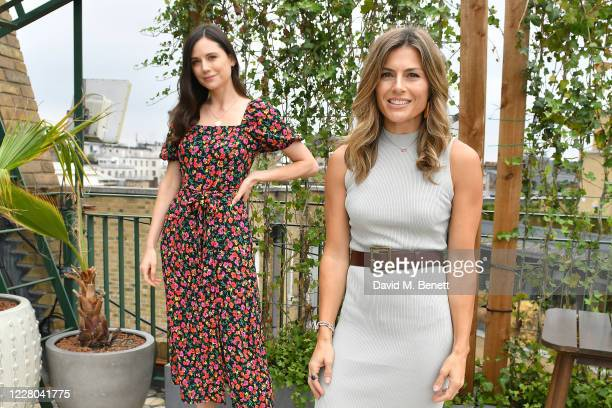Lilah Parsons and Zoe Hardman attend an intimate lunch hosted by Mika Simmons and The Happy Vagina podcast to celebrate the launch of new campaign...