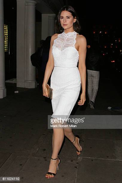 Lilah Parsons at Nobu Berkeley Street for the Lipsy party on September 28 2016 in London England