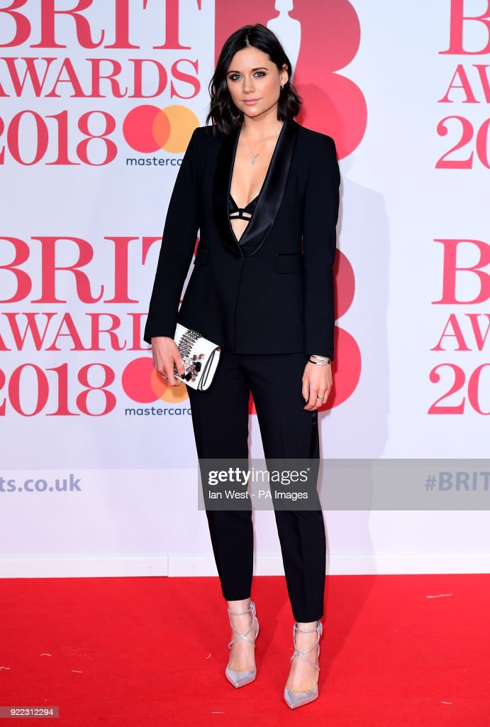 Lilah Parsons attending the Brit Awards at the O2 Arena, London.