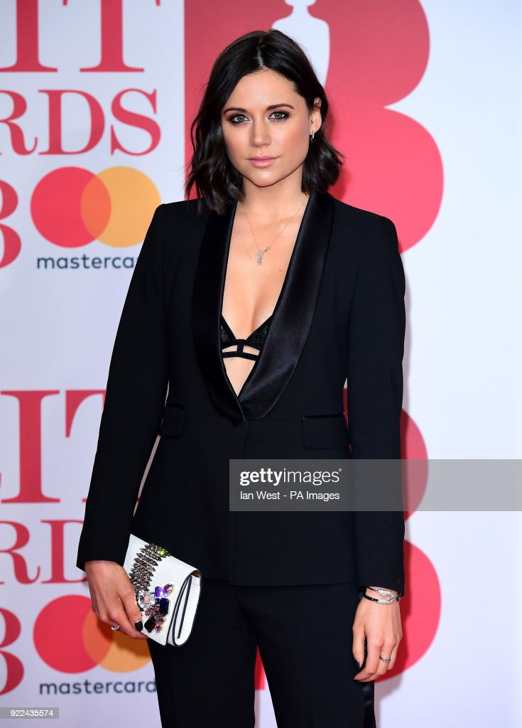 Lilah Parsons attending the Brit Awards at the O2 Arena, London