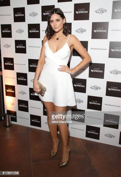 Lilah Parsons attending the Cafe Nespresso Soho Launch Party at Cafe Nespresso on July 11 2017 in London England