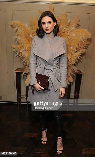 Lilah Parsons attends 5 Years of Gazelli SkinCare on November 10 2016 in London England