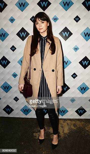 Lilah Parsons attends a celebration of the new TV channel 'W' launching on Monday 15th February at Union Street Cafe on February 11 2016 in London...