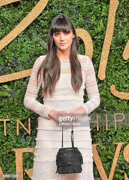 Lilah Parsons attends the British Fashion Awards 2015 at London Coliseum on November 23 2015 in London England