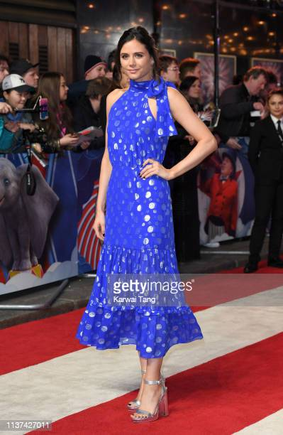 Lilah Parsons attends the European premiere of 'Dumbo' at The Curzon Mayfair on March 21 2019 in London England