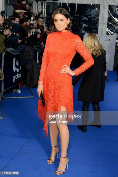 Lilah Parsons attends The Global Awards a brand new awards show hosted by Global the Media Entertainment Group at Eventim Apollo Hammersmith on March...