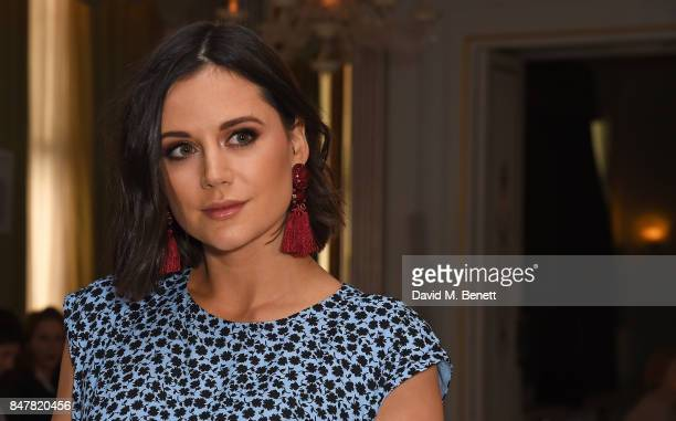 Lilah Parsons attends the Jasper Conran SS18 catwalk show during London Fashion Week September 2017 on September 16 2017 in London United Kingdom