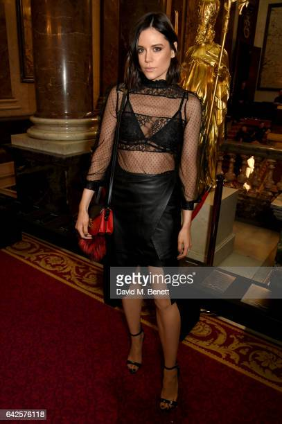 Lilah Parsons attends the Julien Macdonald show during the London Fashion Week February 2017 collections on February 18 2017 in London England