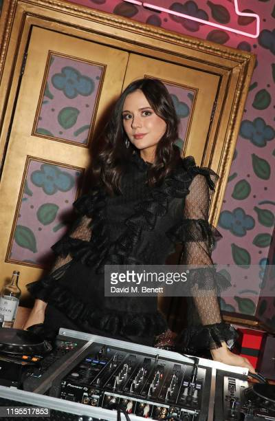 Lilah Parsons attends the launch of Muse by Coco De Mer at Sketch on January 23 2020 in London England