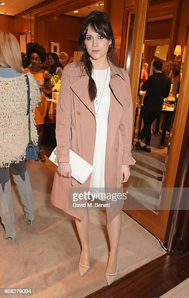 Lilah Parsons attends the launch of new book 'Front Roe How To Be The Leading Lady In Your Own Life' By Louise Roe at Ralph Lauren New Bond Street on...
