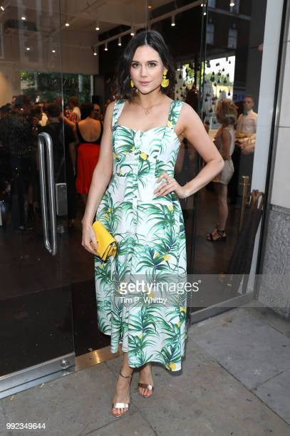 Lilah Parsons attends the Magnum London Launch at Duke of York Square on July 5 2018 in London England
