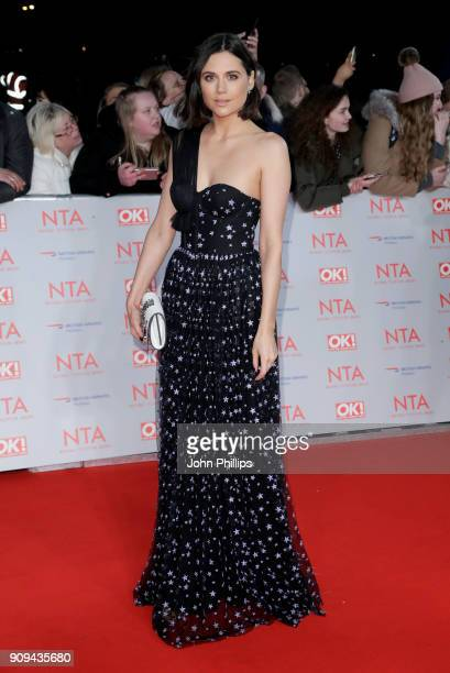 Lilah Parsons attends the National Television Awards 2018 at the O2 Arena on January 23 2018 in London England