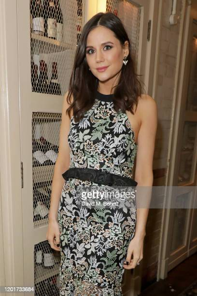 Lilah Parsons attends the Warner Music CIROC BRIT Awards house party in association with GQ at The Chiltern Firehouse on February 18 2020 in London...