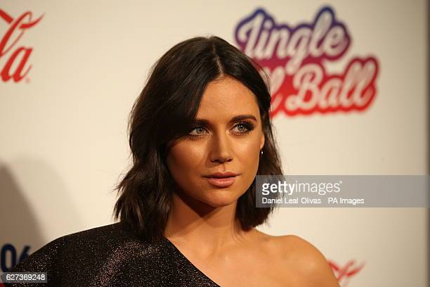 Lilah Parsons during Capital's Jingle Bell Ball with CocaCola at London's O2 arena