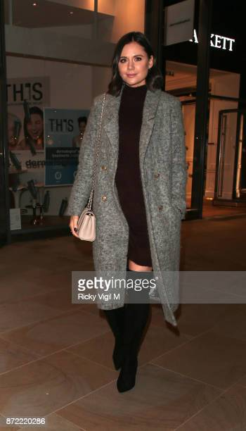 Lilah Parsons seen arriving at The White Forest at Madison launch party on November 9 2017 in London England