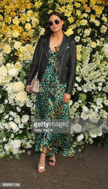 Lilah Parsons seen atrending The Ivy Chelsea Garden x Jenny Packham summer garden party on May 14 2018 in London England