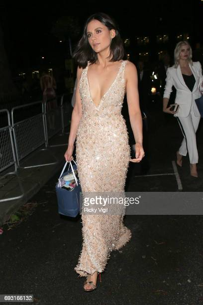 Lilah Parsons seen leaving Glamour Women Of The Year 2017 Awards afterparty held at Berkeley Square Gardens on June 6 2017 in London England
