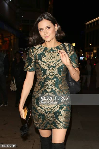 Lilah Parsons sighting on September 14 2017 in London England