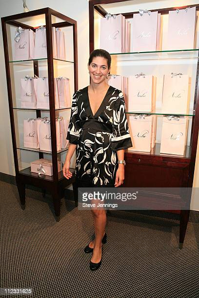 Lilah Schechner during Bebe Event at Burke Williams Spa at Burke Williams Spa in San Frnacisco, California, United States.