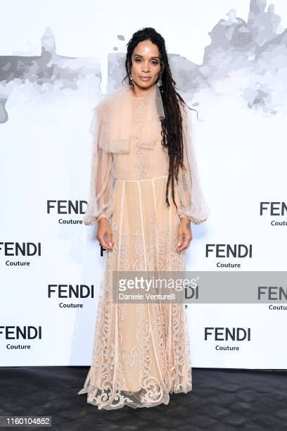 Lilakoi Moon attends the Cocktail at Fendi Couture Fall Winter 2019/2020 on July 04 2019 in Rome Italy