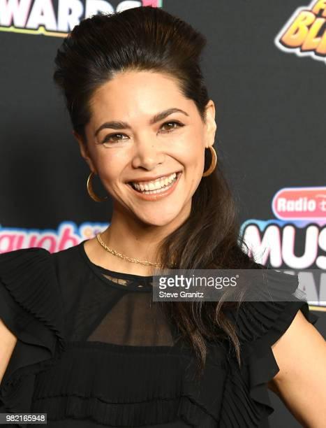 Lilan Bowden arrives at the 2018 Radio Disney Music Awards at Loews Hollywood Hotel on June 22 2018 in Hollywood California