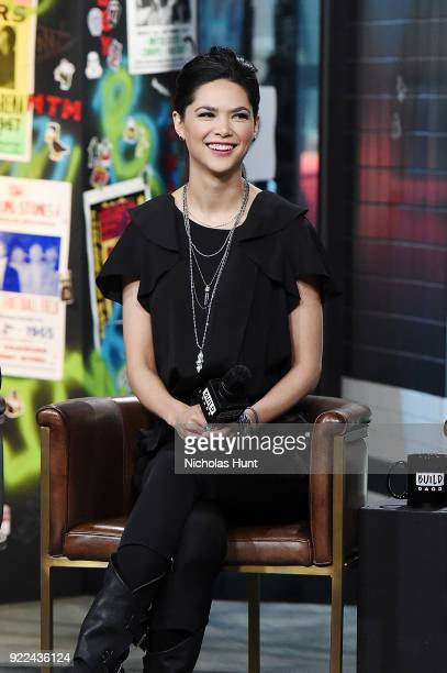 Lilan Bowden attends Build Series to discuss 'Andi Mack' at Build Studio on February 21 2018 in New York City