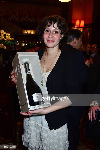 Lilas 2013 awarded Alice Zeniter for 'Sombre Dimanche' attends La Closerie Ses Lilas Literary Awards 2013 6th Edition At La Closerie Des Lilas on...