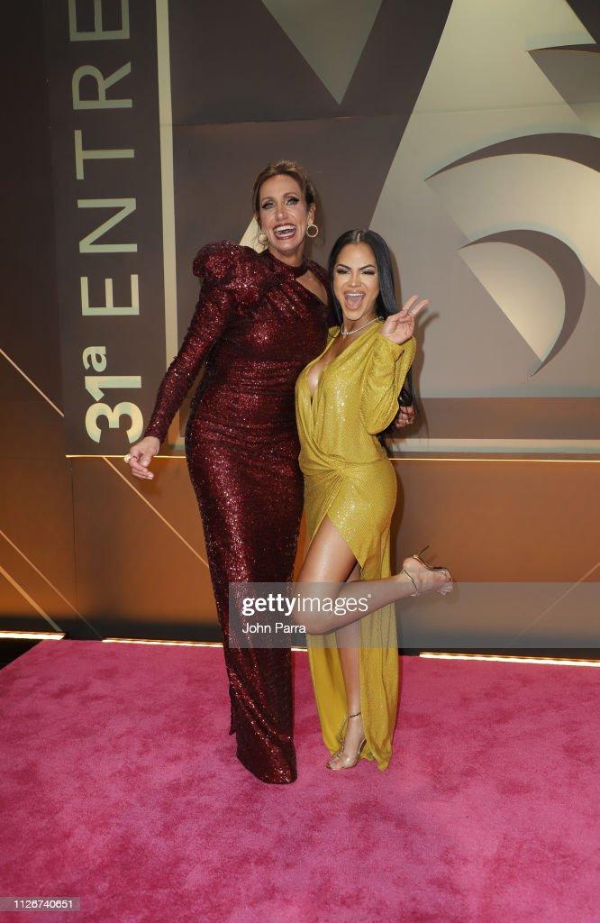 Univision's 31st Edition Of Premio Lo Nuestro A La Musica Latina - Pink Carpet : News Photo