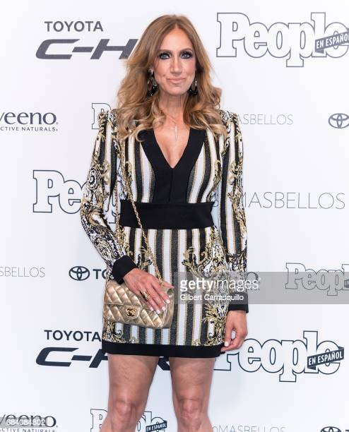 Lili Estefan arrives at People en Espanol's 50 Most Beautiful Gala 2017 at Espace on May 16 2017 in New York City
