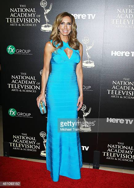 Lili Estefan arrives at the 41st Annual Daytime Emmy Awards held at The Beverly Hilton Hotel on June 22 2014 in Beverly Hills California
