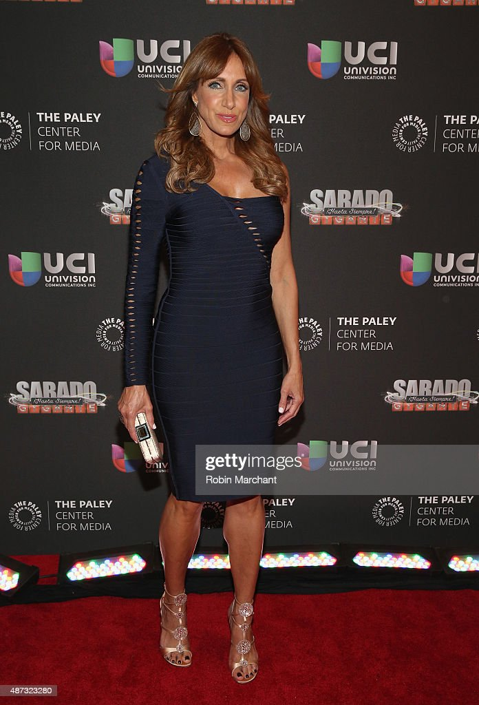 Lili Estefan attends Univision And The Paley Center For Media Host And Evening Honoring Mario Kruetzberger at The Paley Center for Media on September 8, 2015 in New York City.