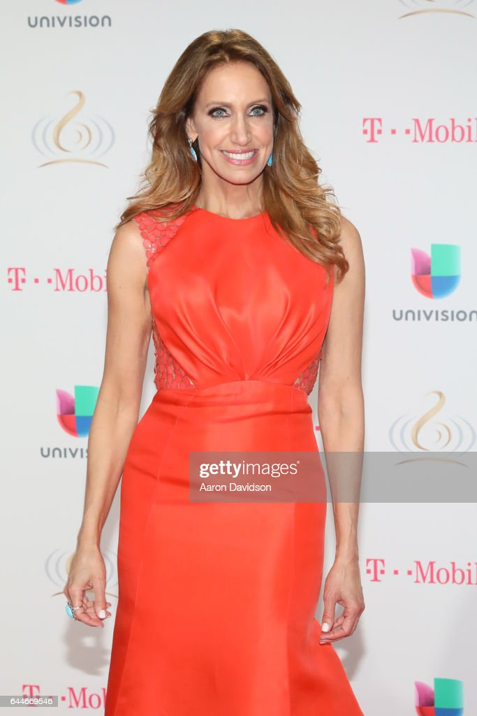 Lili Estefan attends Univision's 29th Edition of Premio Lo Nuestro A La Musica Latina at the American Airlines Arena on February 23, 2017 in Miami, Florida.