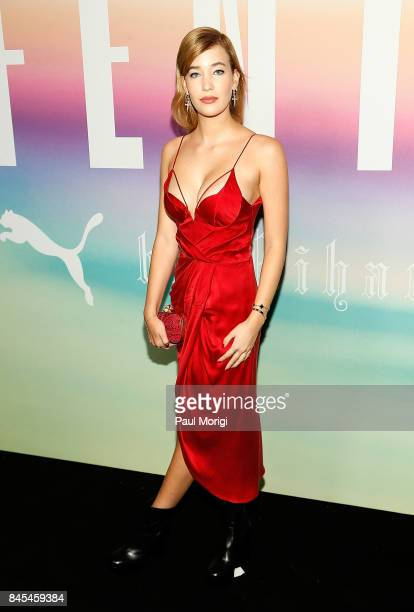 Lili Gattyan attends the Fenty Puma by Rihanna show during New York Fashion Week at the 69th Regiment Armory on September 10 2017 in New York City