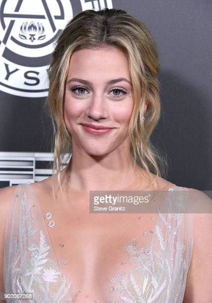 Lili Reinhart arrives at the The Art Of Elysium's 11th Annual Celebration Heaven on January 6 2018 in Santa Monica California