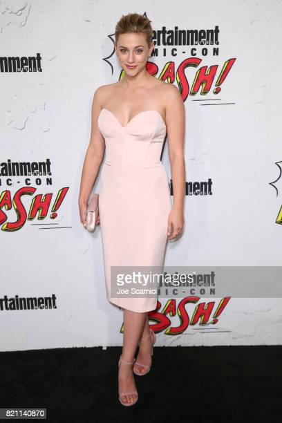 Lili Reinhart at Entertainment Weekly's annual ComicCon party in celebration of ComicCon 2017 at Float at Hard Rock Hotel San Diego on July 22 2017...