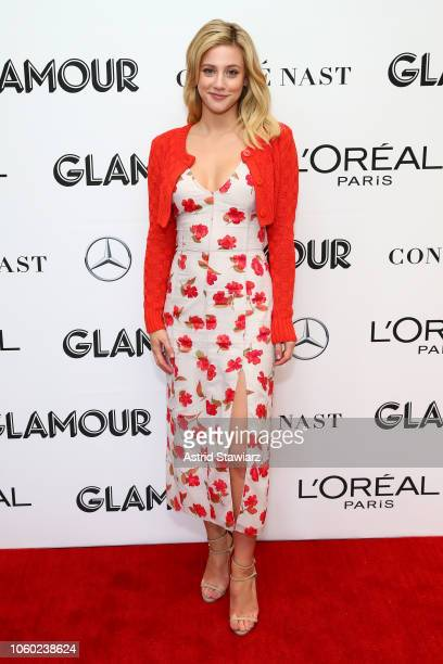 Lili Reinhart attends 2018 Glamour Women Of The Year Summit Women Rise at Spring Studios on November 11 2018 in New York City