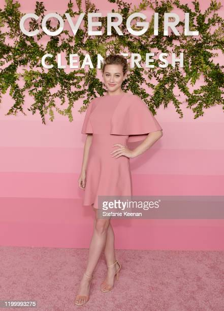 Lili Reinhart attends Covergirl Clean Fresh Launch Party on January 16, 2020 in Los Angeles, California.