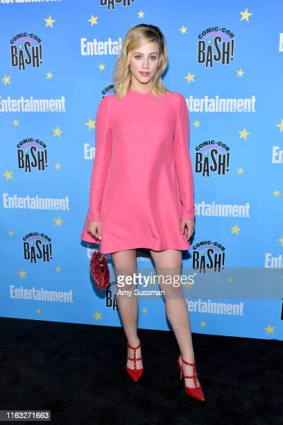 Lili Reinhart attends Entertainment Weekly's ComicCon Bash held at FLOAT Hard Rock Hotel San Diego on July 20 2019 in San Diego California sponsored...