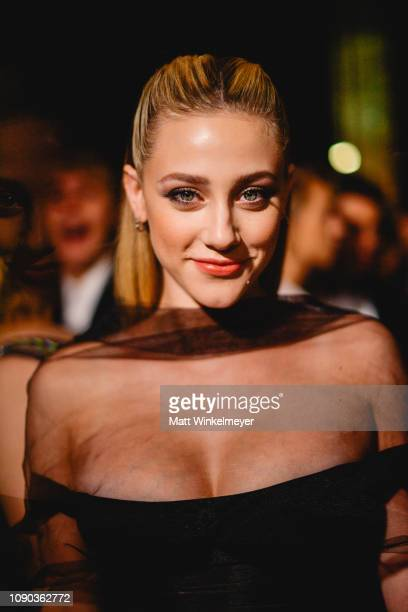 Lili Reinhart attends Michael Muller's HEAVEN presented by The Art of Elysium on January 05 2019 in Los Angeles California