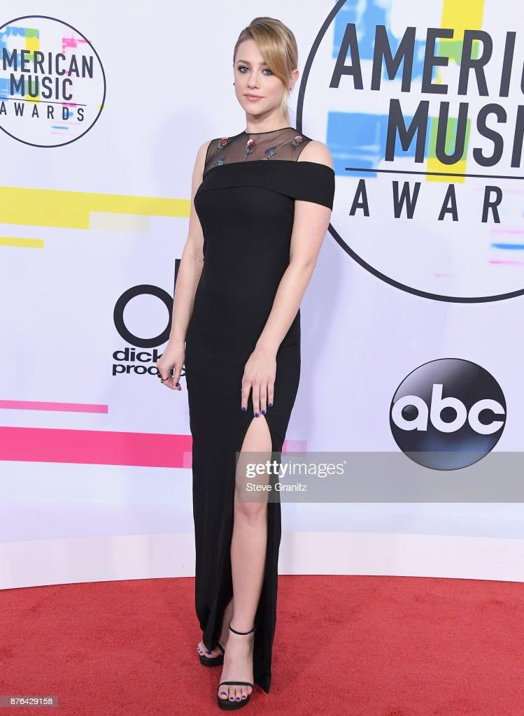 Lili Reinhart attends the 2017 American Music Awards at Microsoft Theater on November 19, 2017 in Los Angeles, California.