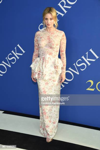Lili Reinhart attends the 2018 CFDA Fashion Awards at Brooklyn Museum on June 4 2018 in New York City