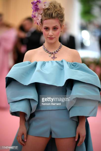 Lili Reinhart attends The 2019 Met Gala Celebrating Camp Notes on Fashion at Metropolitan Museum of Art on May 06 2019 in New York City