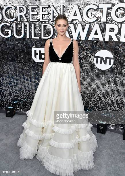 Lili Reinhart attends the 26th Annual Screen Actors Guild Awards at The Shrine Auditorium on January 19 2020 in Los Angeles California