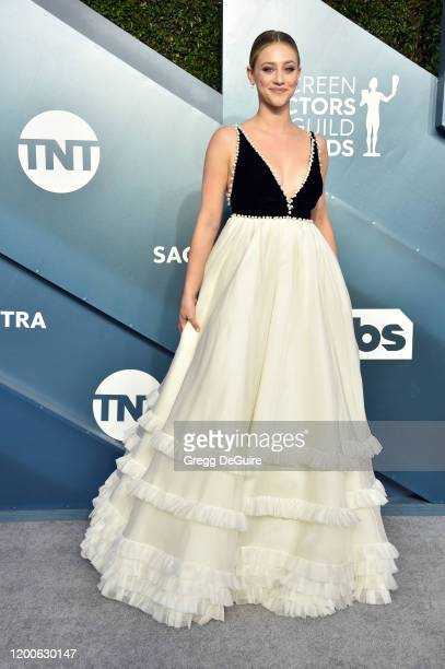 Lili Reinhart attends the 26th Annual Screen ActorsGuild Awards at The Shrine Auditorium on January 19 2020 in Los Angeles California 721430