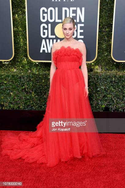 Lili Reinhart attends the 76th Annual Golden Globe Awards at The Beverly Hilton Hotel on January 6 2019 in Beverly Hills California