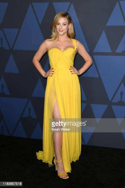Lili Reinhart attends the Academy Of Motion Picture Arts And Sciences' 11th Annual Governors Awards at The Ray Dolby Ballroom at Hollywood & Highland...